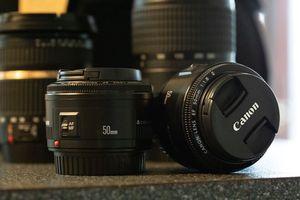 Camera Lenses and Bag for Sale in Kirkland, WA