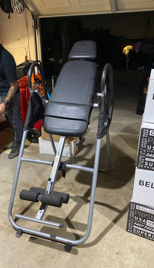 Inversion Table/ back adjuster for Sale in Rancho Cucamonga, CA