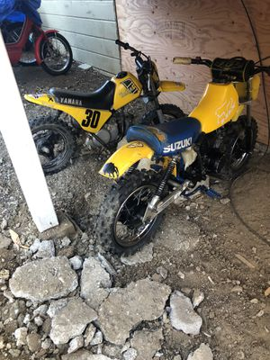 Yamaha and Suzuki Dirt Bikes for Sale in Vallejo, CA