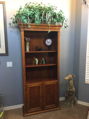 Cherry Bookcase for Sale in Chandler, AZ
