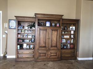 Stone Creek Entertainment Center—Solid Wood for Sale in Phoenix, AZ
