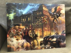 Thomas Kinkade Super Hero/ women Plaques for Sale in Gilroy, CA