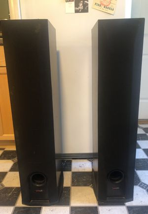 Polk Audio R50 Stereo Speaker Towers for Sale in West Somerville, MA