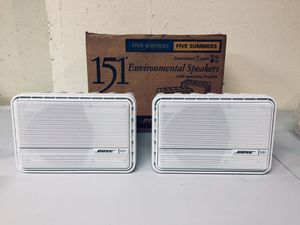 Bose 151 indoor/ outdoor speakers- new for Sale in Naperville, IL