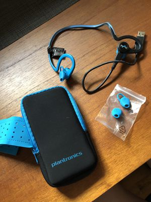 Plantronics BackBeat Waterproof Bluetooth Headphones for Sale in Seattle, WA