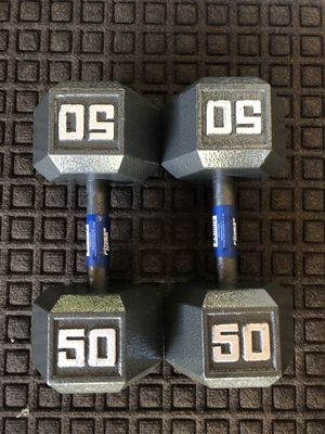 50lbs dumbbells for Sale in San Jose, CA