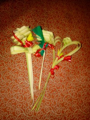Gypsy made bamboo flowers for Sale in Milton, FL