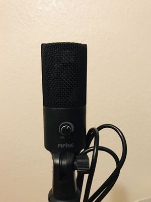 USB Condenser Microphone Fifine (Small) for Sale in Henderson, NV