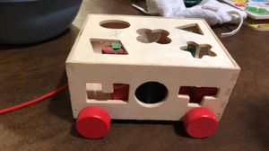 Wooden Shapes toy for Sale in Pinole, CA