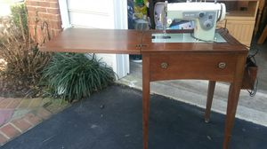 Sears solid cherry wood sewing machine for Sale in Silver Spring, MD