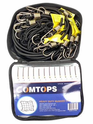 "Heavy duty bungee cord set - 12 PC 36"" Industrial bungee cords for Sale in Bakersfield, CA"