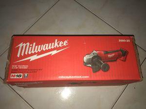 Milwaukee Grinder M18 for Sale in Lauderhill, FL
