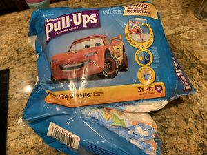 Huggies pull up diapers 3t-4t for Sale in Riviera Beach, FL