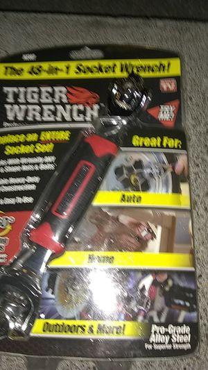 Tiger Wrench. Professional Multi-socket wrench.Replace an entire Socket set. for Sale in Portland, OR