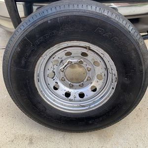 Hartland Radial ST 235/85R16 Tire and Rim for Trailer Truck - NEW - 235/85/16 for Sale in Katy, TX