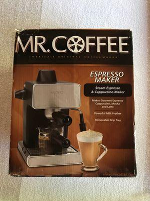 Mr coffee steam espresso and cappuccino maker for Sale in San Marcos, CA