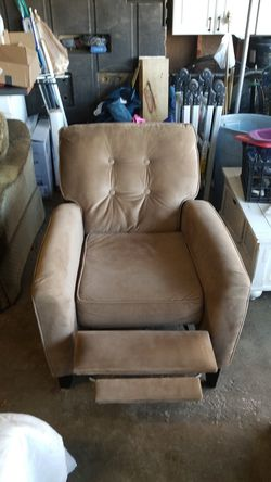 Light brown reclining chair for Sale in Morgantown,  WV