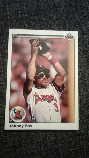 Johnny Ray. 1990 Upper Deck Baseball Card #509 for Sale in Los Angeles, CA