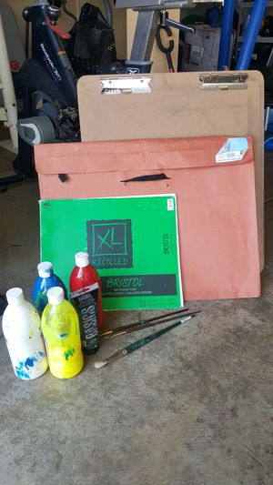 ART SUPPLIES/SELLING AS A SET for Sale in Lathrop, CA