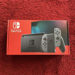 New Nintendo Switch Black/Grey for Sale in Columbus, OH