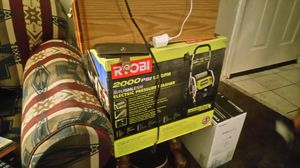Ryobi 2000 psi electric pressure washer for Sale in Salt Lake City, UT
