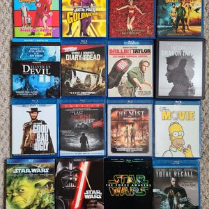 20 Blu-ray Lot- Star Wars Trilogy, American Beauty, Horror And More for Sale in Schwenksville, PA