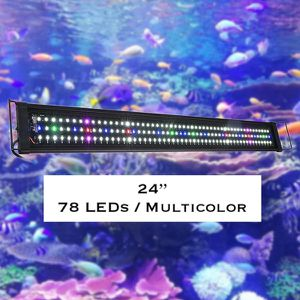 "24"" Full Spectrum LED Aquarium Light Reef Coral Marine Fish Tank Light for Sale in Ontario, CA"