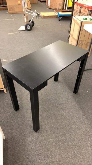 Black Scratch and Dent Basic Student Desk (Corners Dent for transportation $25 JM Summer Sale ! for Sale in Houston, TX