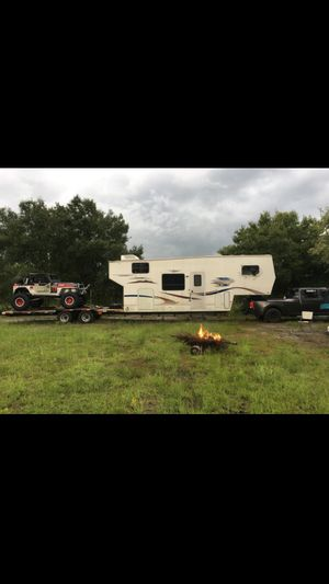 Custom 50 ft toy hauler for Sale in LAUD LAKES, FL