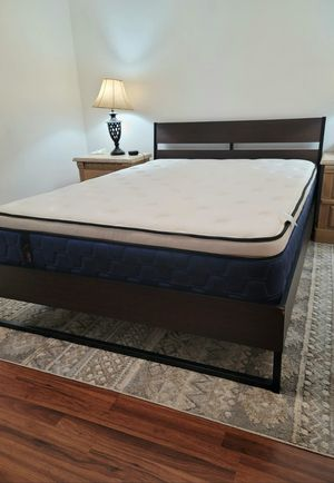 NEW QUEEN PILLOWTOP MATTRESS AND BOX SPRING 2PC, bed frame not included on price for Sale in Lake Worth, FL