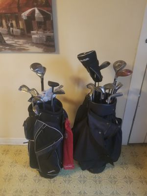 Golf Clubs with Bags for Sale in Baltimore, MD