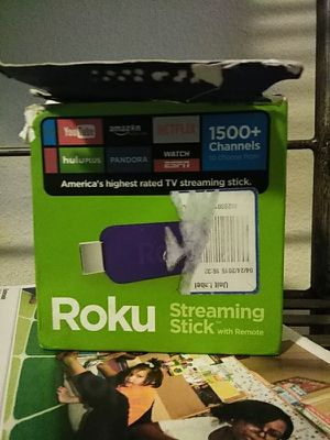 Roku stick for Sale in Tacoma, WA
