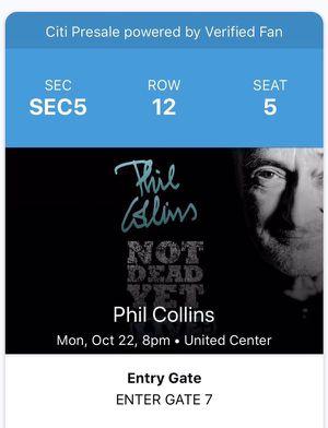Phil Collins for Sale in Chicago, IL