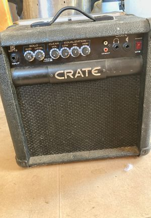 Crate amp for Sale in San Diego, CA