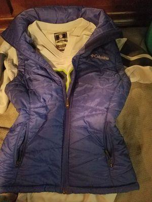 Columbia omni heat waterproof vest and shirt for Sale in Burien, WA
