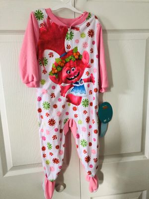 Brand new 2T Troll Girls Poly 1-Piece Footless Sleeper (pick up only) for Sale in Alexandria, VA
