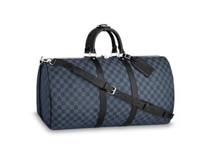Louis Vuitton KEEPALL BANDOULIÈRE 45 Cobalt blue for Sale in Eugene, OR