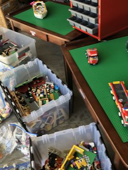 LEGOS, LEGO TABLES, LEGO DRAWERS, BOOKS! for Sale in San Diego,  CA