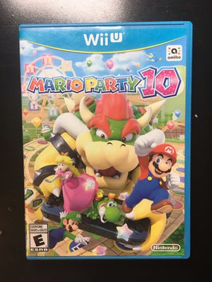 Mario Party 10 Wii U Game Nintendo kids toys for Sale in Ontario, CA