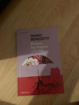 Mario Beneditti Libro Poesía for Sale in Hesperia, CA