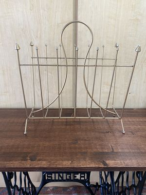Vintage Midcentury Magazine Rack for Sale in Gilbert, AZ