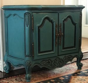 Vintage Turquoise Accent Table for Sale in Denver, CO