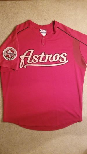 Special Edition 45 year commemerative Houston Astros Jersey for Sale in Spring, TX
