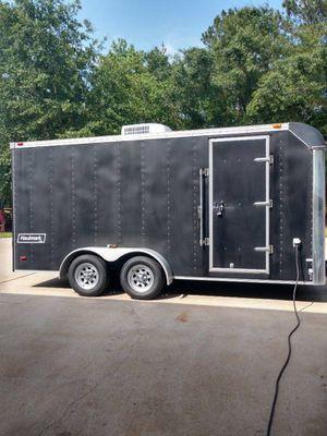 2002 Hualmark 16ft trailer for Sale in Magnolia, TX