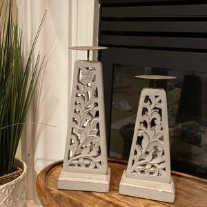 Gray Candle Holders for Sale in Bakersfield, CA