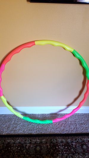 Colorful hula hoop. for Sale in Milton, FL