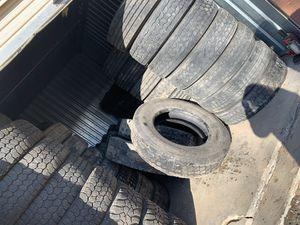 Semi Truck Tires. Llantas para trailer. for Sale in Thornton, CO