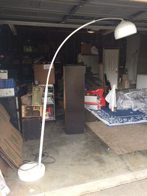 White retro floor lamp for Sale in Los Angeles, CA