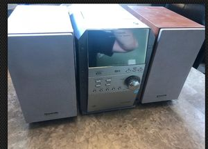 PANASONIC SA-PM19 CD Stereo System Cassette, 5 CD Changer, FM AM, Speakers for Sale in Elgin, IL