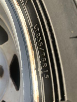 Cooper tires LT235 75R 15 for Sale in Kent, WA